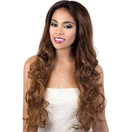 L. Margo - Long Length Wavy Synthetic Wig | Motown Tress - African American Wigs