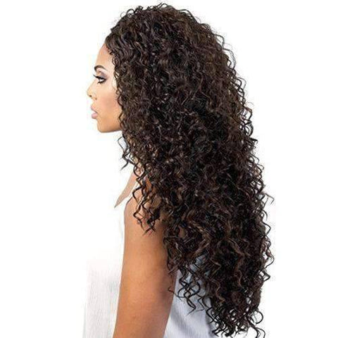 Image of L. Rhona - Long Length Curly Synthetic Wig | Motown Tress - African American Wigs