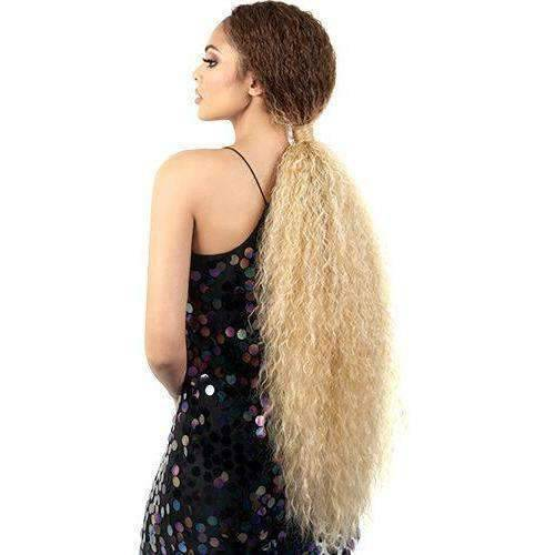 L. Yonce - Extra Long Length Curly Synthetic Wig | Motown Tress - African American Wigs