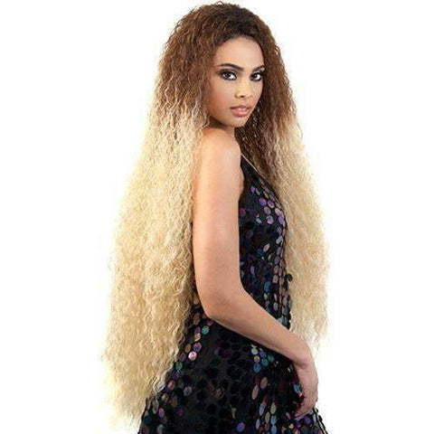 Image of L. Yonce - Extra Long Length Curly Synthetic Wig | Motown Tress - African American Wigs