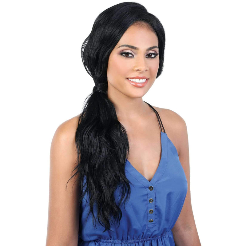 L360 LIZ27 - Long Length Curly High Quality Synthetic Wigs | Motown Tress - African American Wigs