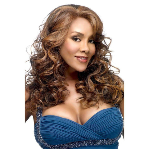 Lavender - Vivica Fox Lace Front Synthetic Wig - African American Wigs