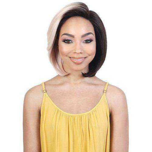 LDP-AINA - Short Length Straight High Quality Synthetic Wig | Motown Tress - African American Wigs