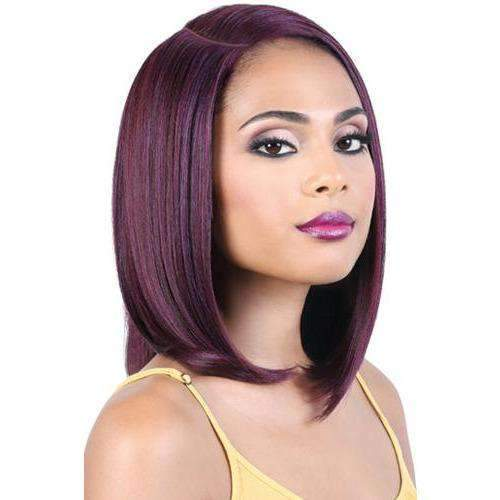 LDP-CURVE1 - Medium Length Straight High Quality Synthetic Wigs | Motown Tress - African American Wigs
