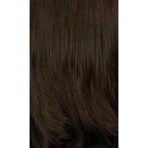 Image of LDP-CURVE3 - Medium Length Wavy Synthetic Wig | Motown Tress - African American Wigs