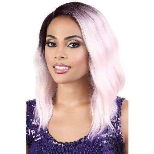LDP-CURVE3 - Medium Length Wavy High Quality Synthetic Wigs | Motown Tress - African American Wigs