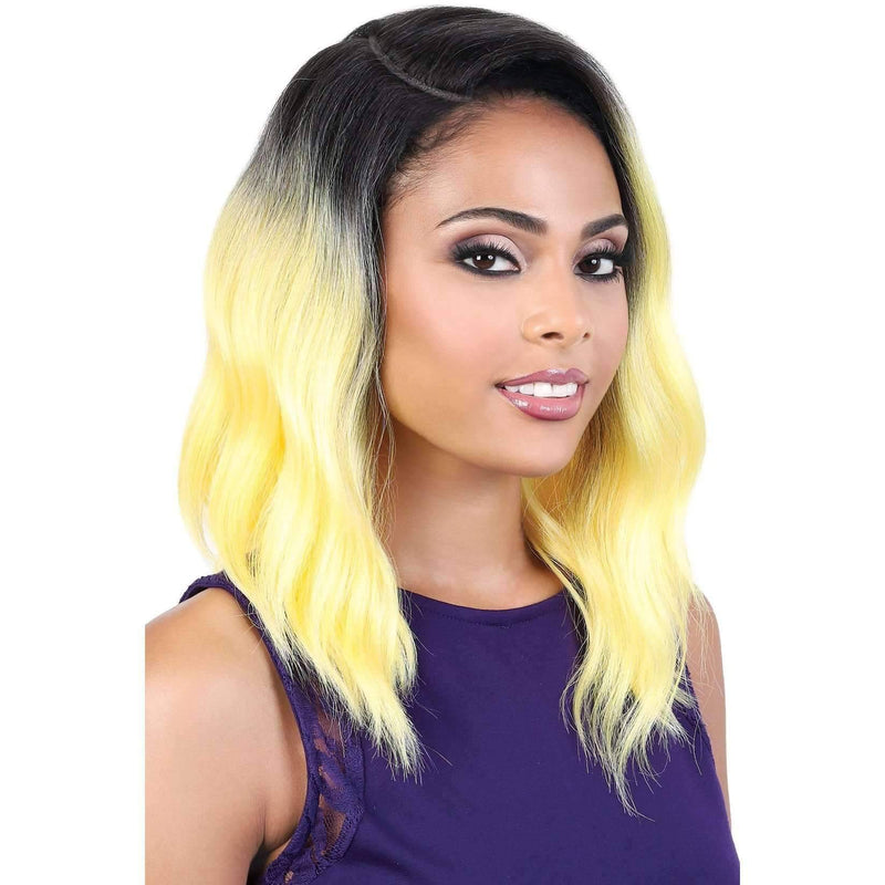 LDP-CURVE3 - Medium Length Wavy Synthetic Wig | Motown Tress - African American Wigs