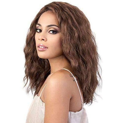 LDP-Fenty - Long Length Wavy Synthetic Wig | Motown Tress - African American Wigs