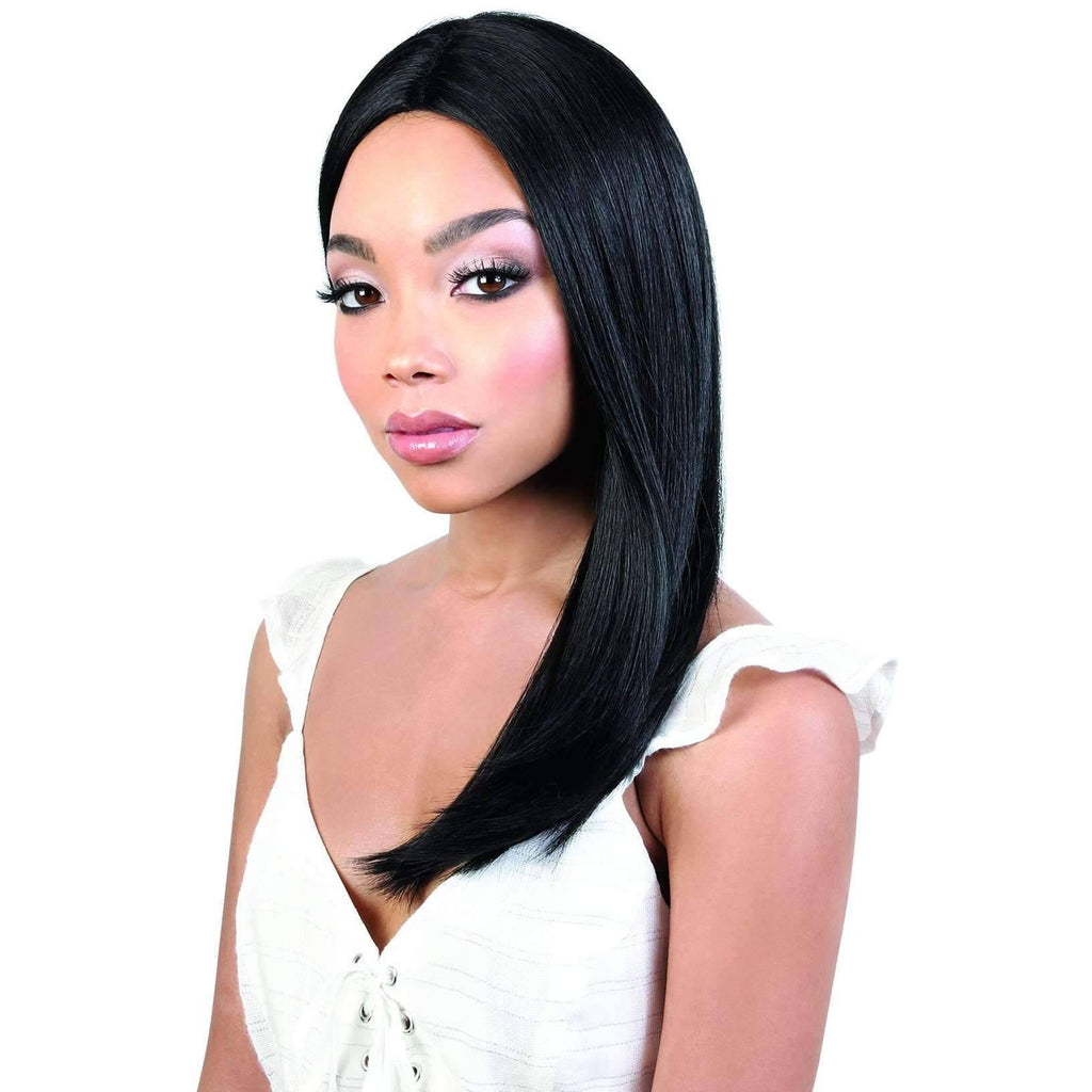 LDP-FINE18 - Long Length Straight Synthetic Wig | Motown Tress - African American Wigs