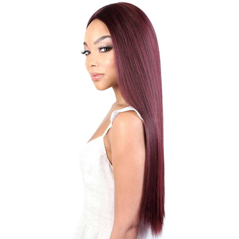 LDP-FINE27 - Extra Long Length Straight High Quality Synthetic Wigs | Motown Tress - African American Wigs