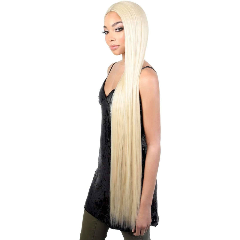 LDP-FINE40 - Extra Long Length Straight High Quality Synthetic Wig | Motown Tress - African American Wigs