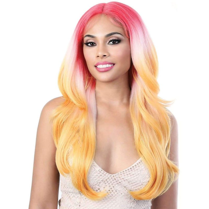 LDP-Jazz24 - Long Length Wavy Synthetic Wig | Motown Tress - African American Wigs