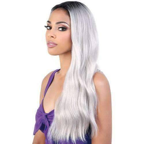 LDP-Kim - Long Length Wavy Synthetic Wig | Motown Tress - African American Wigs