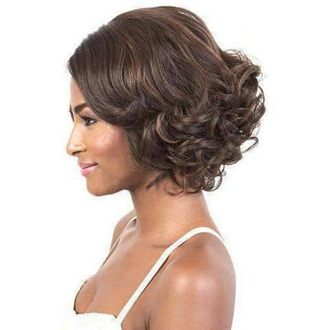 Image of LDP-Liza - Medium Length Curly Synthetic Wig | Motown Tress - African American Wigs