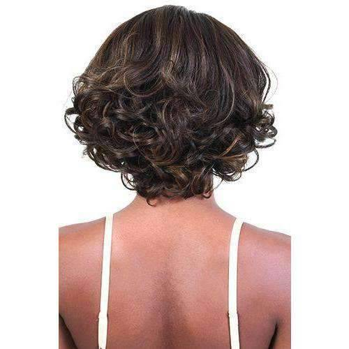LDP-Liza - Medium Length Curly Synthetic Wig | Motown Tress - African American Wigs