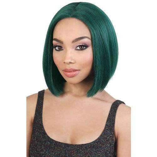 LDP-NEON2 - Short Length Straight Synthetic Wig | Motown Tress - African American Wigs