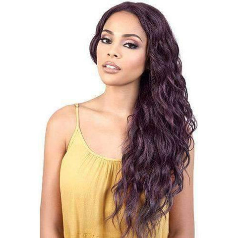 Image of LDP-Peggy - Long Length Curly Synthetic Wig | Motown Tress - African American Wigs