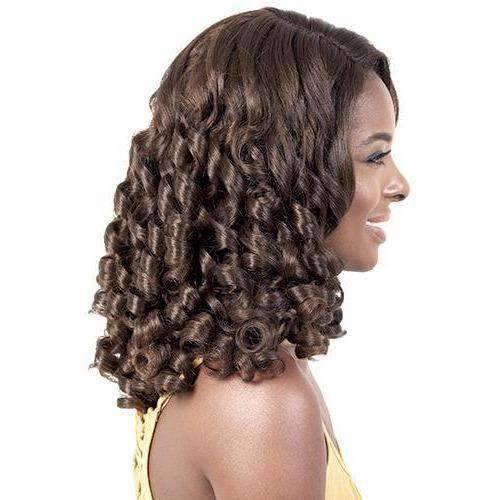 LDP-Polly - Long Length Curly Synthetic Wig | Motown Tress - African American Wigs