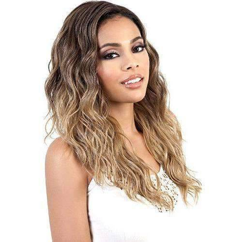 LDP-Spin63 - Long Length Wavy Synthetic Wig | Motown Tress - African American Wigs
