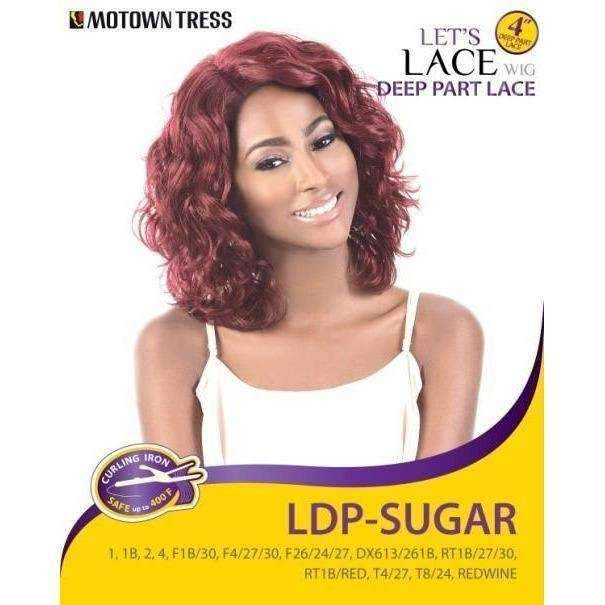 LDP-SUGAR | Heat Friendly Synthetic Wig (Lace Front Traditional Cap) - African American Wigs