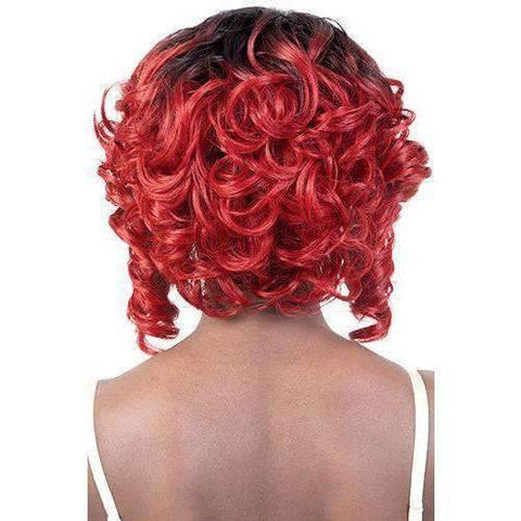 Image of LDP-Sweet - Medium Length Curly Synthetic Wig | Motown Tress - African American Wigs