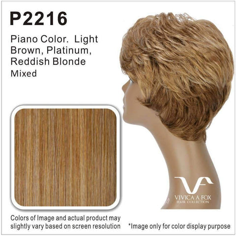 LENI-V | Heat Resistant Synthetic Wig (Hand Made Traditional Cap) - African American Wigs