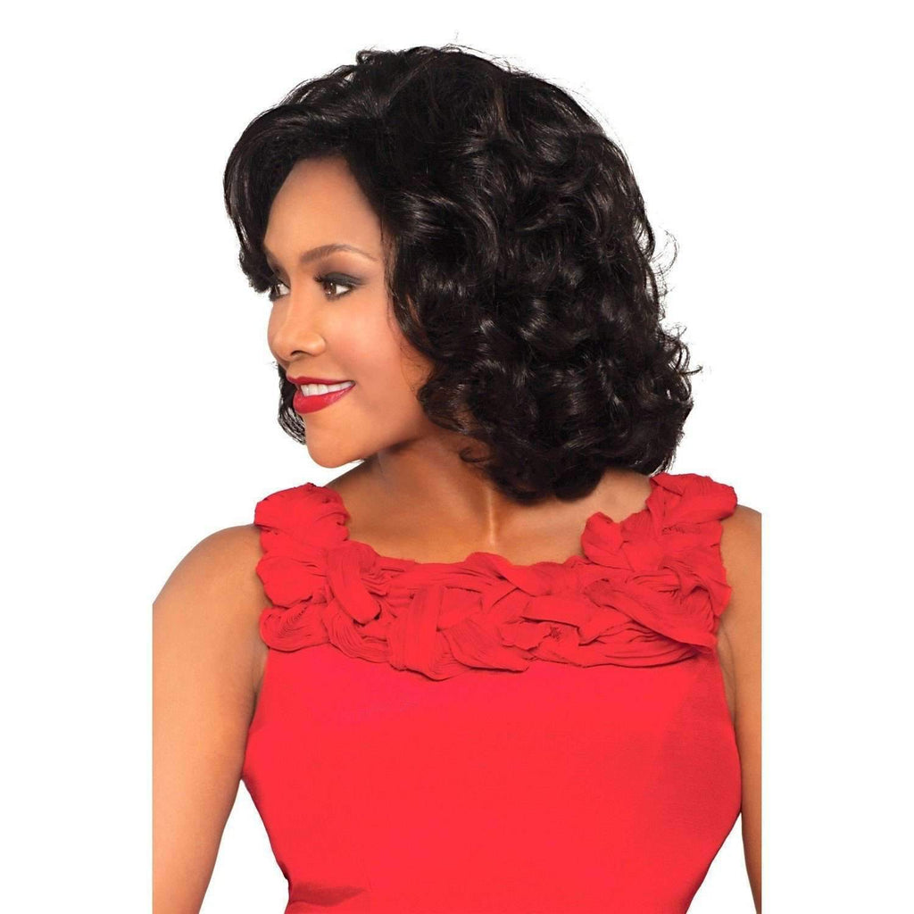 Leona - Vivica Fox Lace Front Synthetiic Wig - African American Wigs