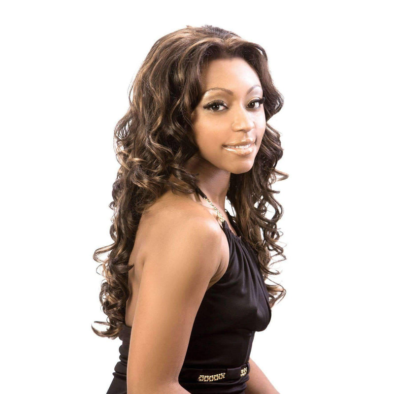 LFES-Femme-Motown Tress Synthetic Hair Wig Long in Color #4 - African American Wigs