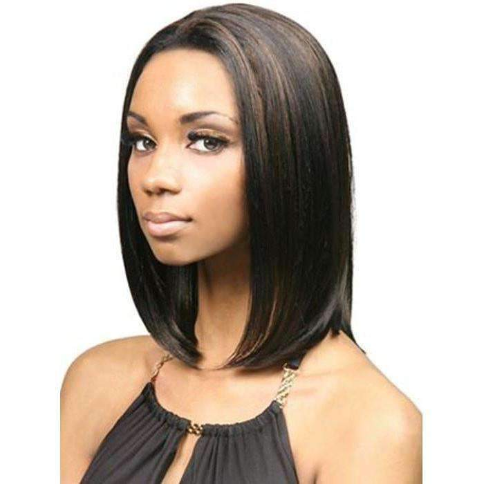 LFES-Nemo-Motown Tress Synthetic Lace Front Hair Wig Short in Color #1 - African American Wigs