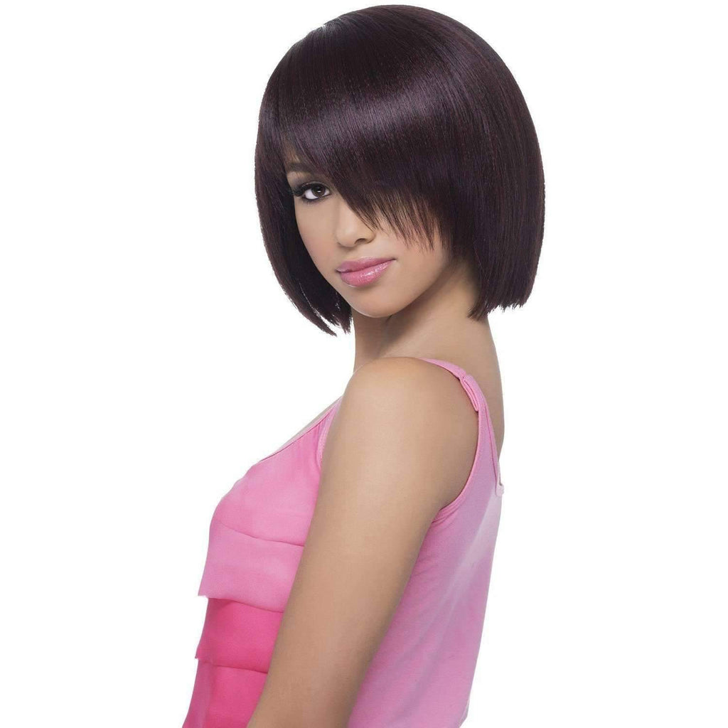 LINNET Straight Synthetic Fringed End Bob - Vivica Fox - African American Wigs