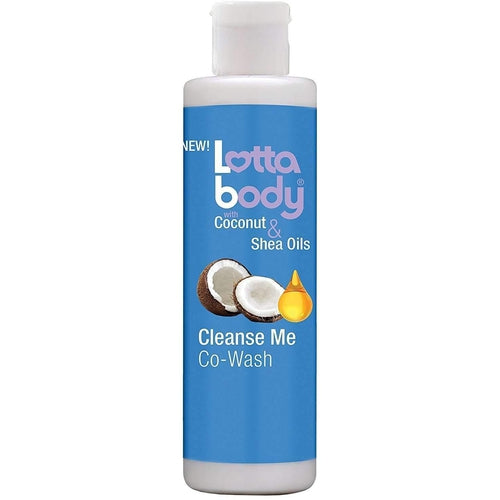 Lotta Body Cleanse Me Co-Wash with Coconut And Shea Oil, 10.1 OZ - African American Wigs