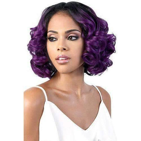 Image of LSDP-Mora - Medium Length Curly Synthetic Wig | Motown Tress - African American Wigs