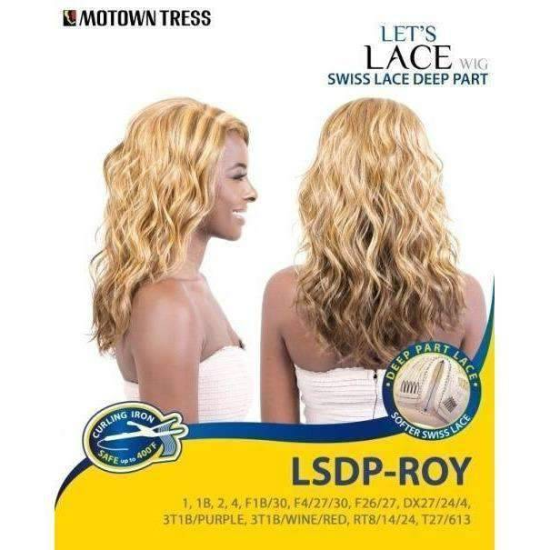 LSDP-ROY | Heat Friendly Synthetic Wig (Lace Front Traditional Cap) - African American Wigs