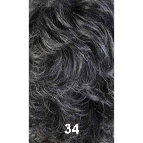 Image of LUCKY - Short Length Wavy Synthetic Wig | Motown Tress - African American Wigs