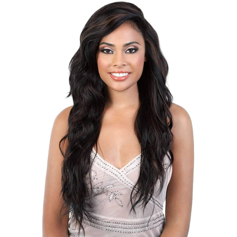 L.UNICORN - Long Length Curly High Quality Synthetic Wigs | Motown Tress - African American Wigs