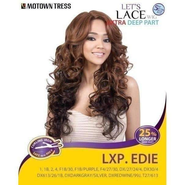 LXP. EDIE | Heat Friendly Synthetic Wig (Lace Front Traditional Cap) - African American Wigs