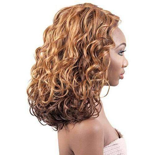 LXP. Mary - Medium Length Curly Synthetic Wig | Motown Tress - African American Wigs