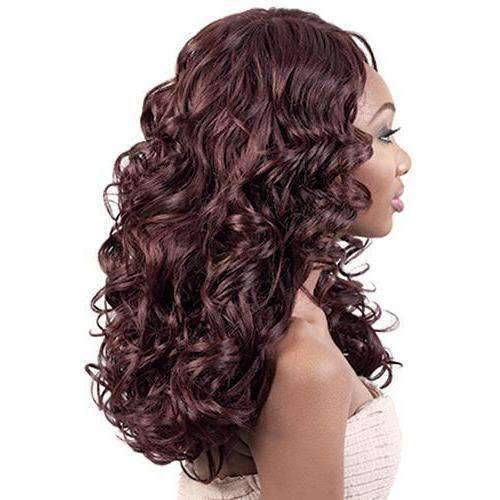 LXP. Susan - Long Length Curly Synthetic Wig | Motown Tress - African American Wigs
