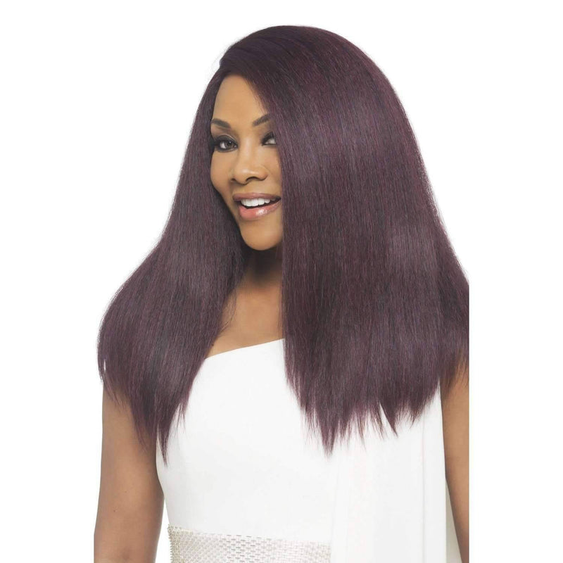 Lynn - Vivica Fox Lace Front Synthetic Wig in Color #1B - African American Wigs