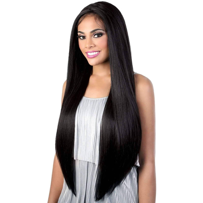 LZ.Lisa35 - Extra Long Length Straight High Quality Synthetic Wigs | Motown Tress - African American Wigs
