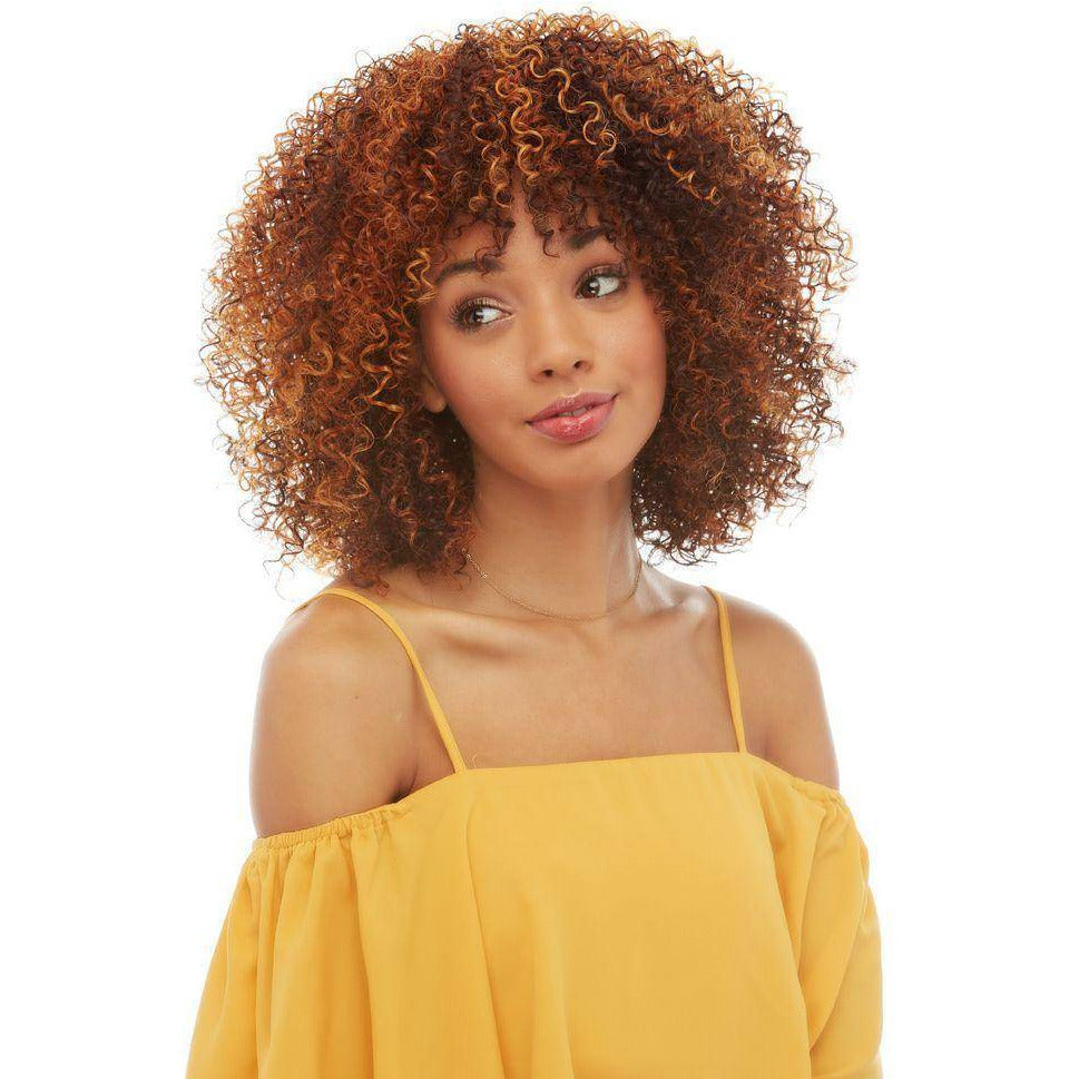 Maggie | Afro Coily Volumous High Quality Synthetic Wig- African American Wigs