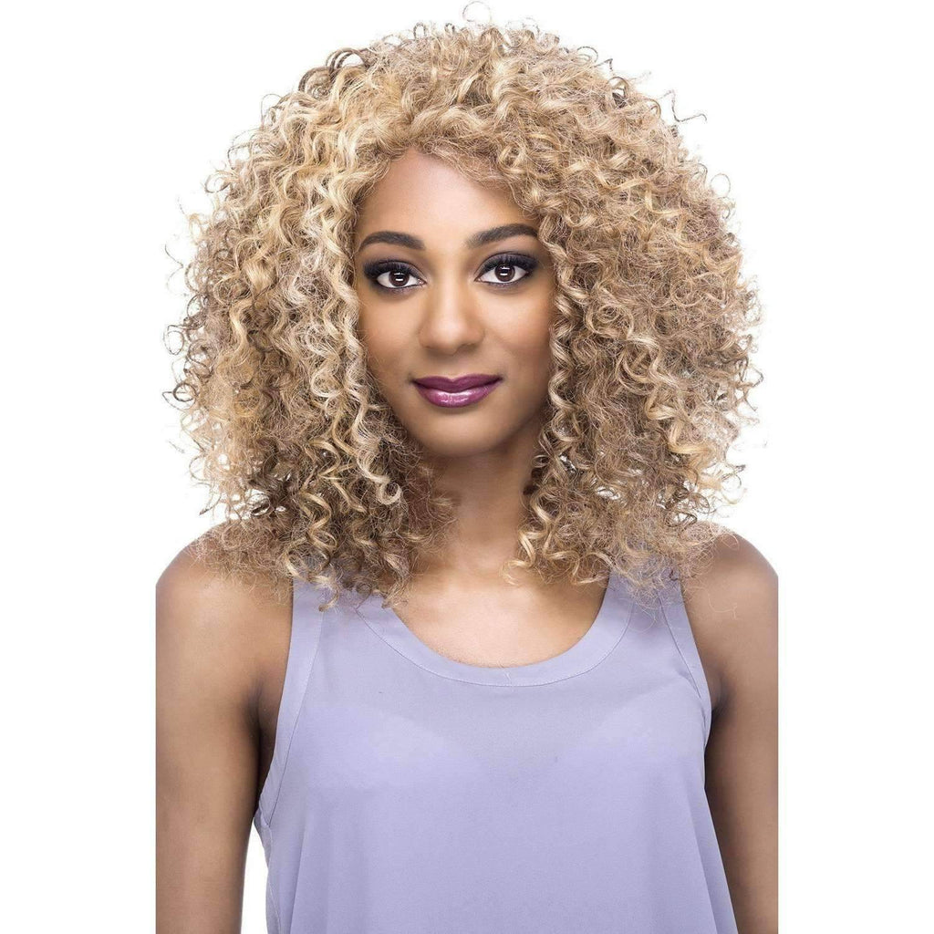 Majorie | Heat Friendly Synthetic Wig (Lace Front Traditional Cap) - African American Wigs