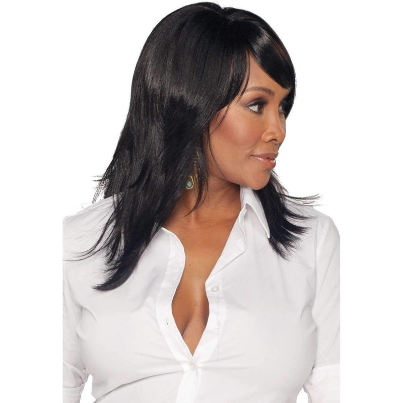 MERLE-V Synthetic Layered Cut Style  Wig - Vivica Fox - African American Wigs