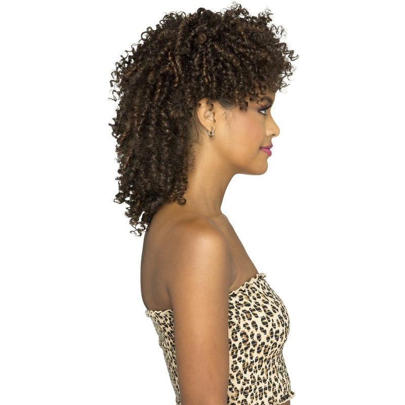 MH-ABBA  TIGHT CURL LAYERED MOHAWK WITH BANGS - Vivica Fox