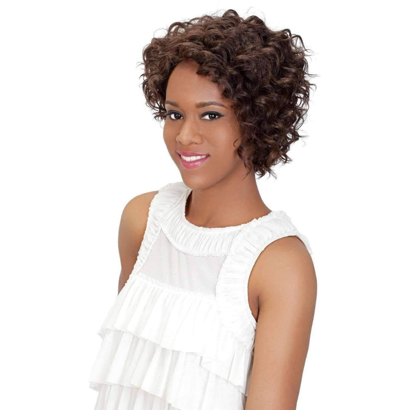 MIKA  Synthetic Layered Spiral Curl  Wig - Vivica Fox - African American Wigs