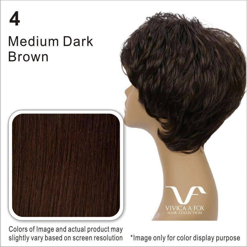 MIRACLE-V | 100% Human Hair Wig (Lace Front Traditional Cap) - African American Wigs