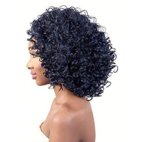 Misha - Medium Length Curly Synthetic Wig | Motown Tress - African American Wigs
