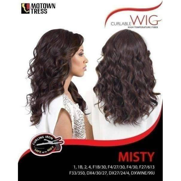 MISTY | Heat Friendly Synthetic Wig (Traditional Cap) - African American Wigs