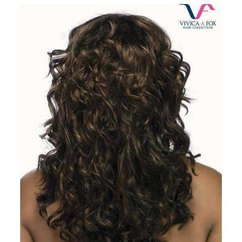 Image of ML - Juno - Vivica Fox Lace Front Synthetic Wig in Color #FS4/30 - African American Wigs