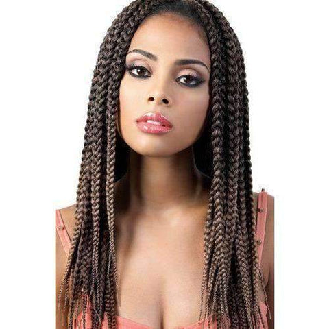 "Image of Motown Tress 14"" X 2 Pack Crochet Feather Lite Pre loop Big Box Braid - African American Wigs"
